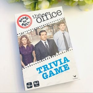 The Office funny trivia game w dice & card…